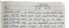 Brief aan de lezer van Marlin Burkunk